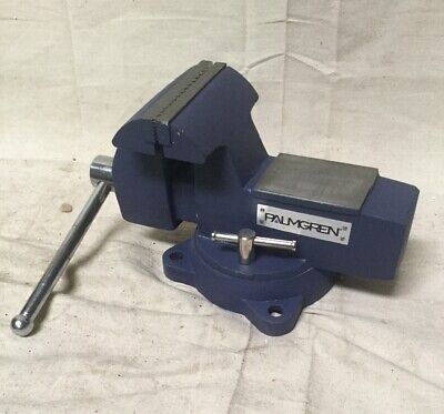 """PALMGREN P745 Heavy Duty Combination Vise, 5"""" Jaw Width, 6"""" Max. Opening, 3-1/2"""