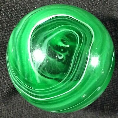 """Shooter .9875""""  Mint M F Christensen & Son Antique Marble Wet Mint 9.7 Awesome!"""