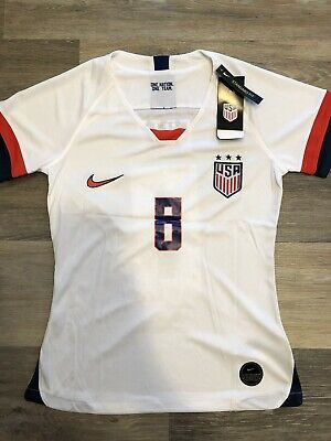 1745f1ef5 Julie Ertz Jersey: 2019 World Cup United States National : USA White Womens