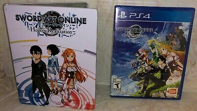 SWORD ART ONLINE: Hollow Realization steel book case (game not