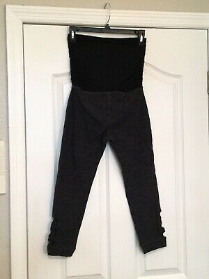 BEYOND THE BUMP By Beyond Yoga Maternity Yoga Capri Pants. Size XS. Excel. Cond.