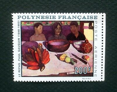 FRENCH POLYNESIA MNH #566 Paul Gauguin Painting Stamp
