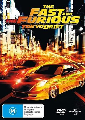 The Fast And The Furious - Tokyo Drift dvd  w158