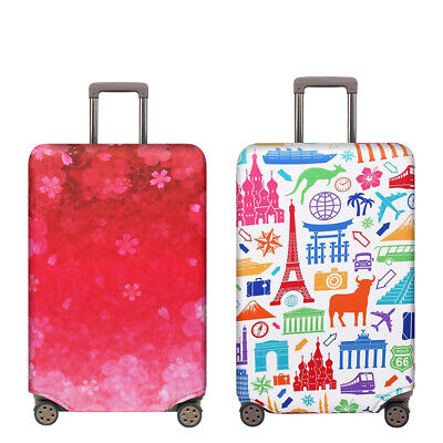 """18""""-32"""" Travel Protective Luggage Suitcase Dust Cover Dust Bag Elastic Thicken"""