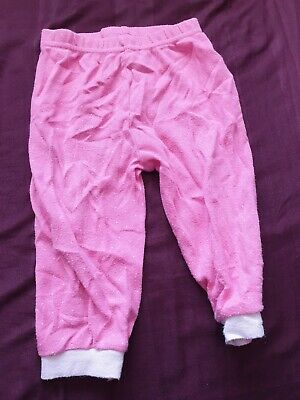 Girls Clothes 9-12 Months Pink Pyjama Bottoms