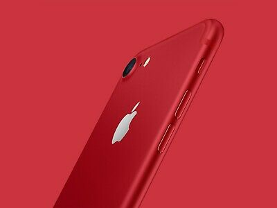 Apple iPhone 7 128GB Red Unlocked exellent grade A  !