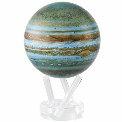 ROTATING GLOBES - JUBITER. POWERED BY LIGHT. 4.5 inches