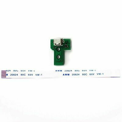 USB Charging Port Socket Board Controller JDS-030+12 Pin Cable for Sony PS4 F4J1