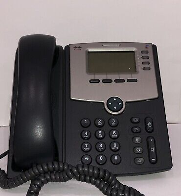 Phone Cisco SPA504G Telstra Digital Office Technology With Power Supply