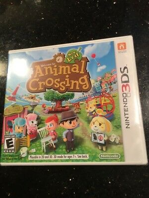 Animal Crossing:  New Leaf (Nintendo 3DS, 2013) Brand New Factory Sealed
