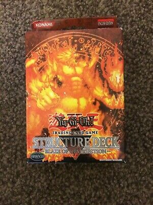Blaze of Destruction Structure Deck SD3 (Factory Sealed) *1st Edition - Yugioh