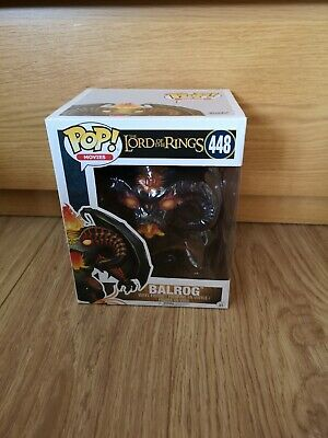 "Funko POP Movies The Lord of the Rings Balrog 6"" Action Figure 448"