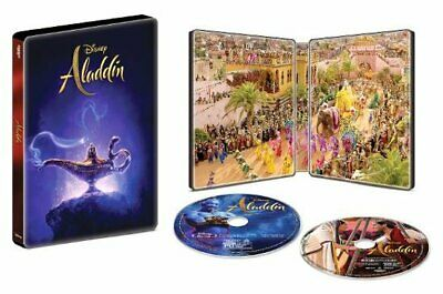 Aladdin [2019] Steelbook (4K UHD + Blu-ray + Digital HD) *Pre-order Now