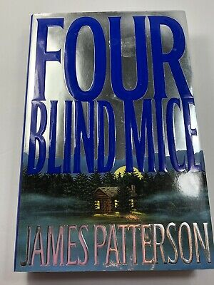 Four Blind Mice Hardback Book By James Patterson