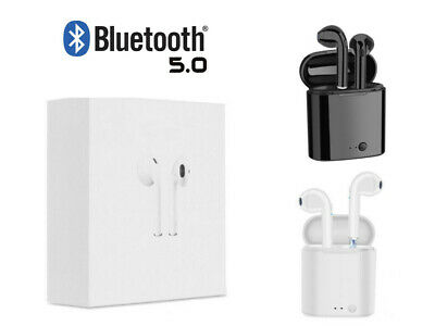 1Bluetooth Earphones For iPhone Android Samsung Earpods Wireless Earbuds Airpods