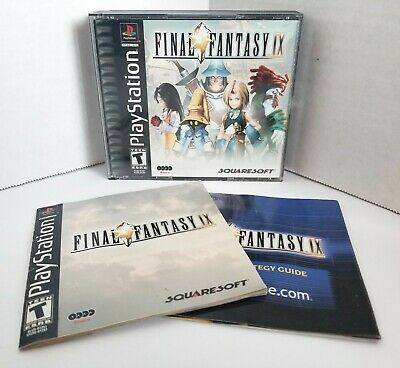 FINAL FANTASY IX 9 Strategy Guide Book Playstation PS1