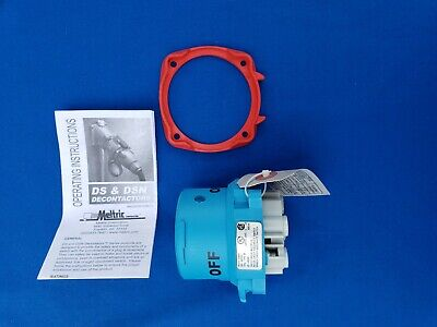 MELTRIC 63-68043 DSN60 Inlet/Plug 60A 3P 480vAC - new