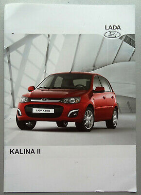 V11883 Lada Kalina Ii - Catalogue - 10/16 - A4 - D