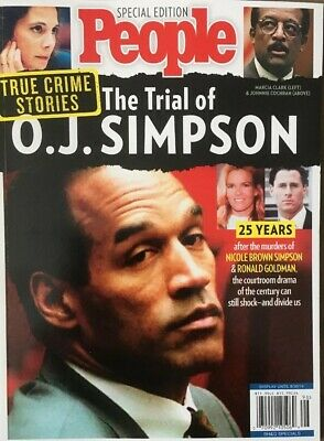 People Magazine Special Edition The Trail Of O.J. Simpson