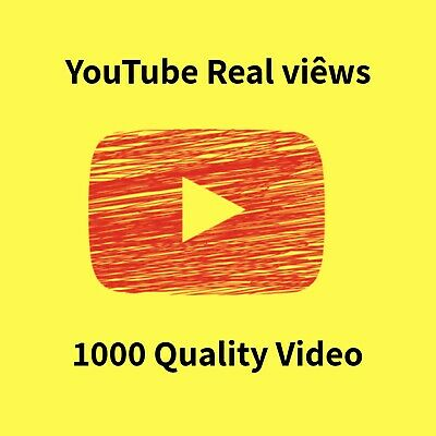 Youtube Real Service | Viêws | 1000 Quality Video