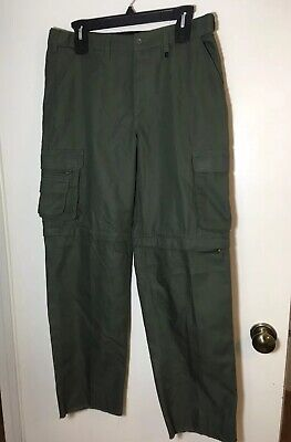 Boy Scouts of America Uniform Canvas Pants Switchback Youth 18            B