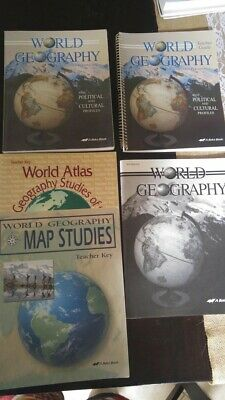 HOLT WORLD GEOGRAPHY 2 CD set Student Text and Quiz Game