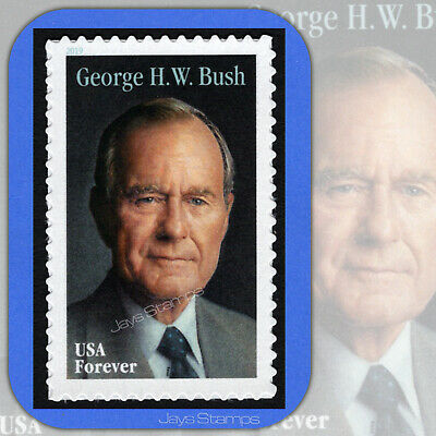 2019  GEORGE H. W. BUSH  Genuine  USPS  Forever® Individual MINT Stamp  # 5393