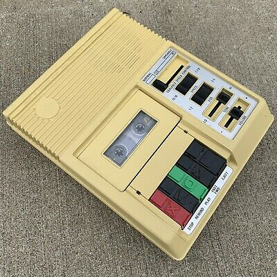 Cassette Tape Player C-1 Library Of Congress Tested Works - Read Description