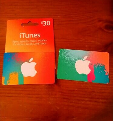 $30 and $50 Apple AU iTunes Card Gift Cards - free postage