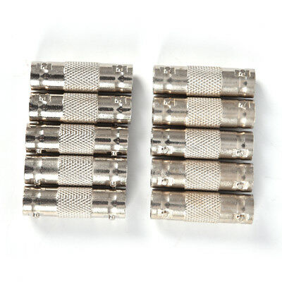 10Pcs BNC Female To BNC Female Connector couplers Adapter For CCTV Video Cam FE