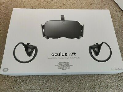 Oculus Rift Virtual Reality Headset Sensors Touch Controllers 301-00095-01 VR
