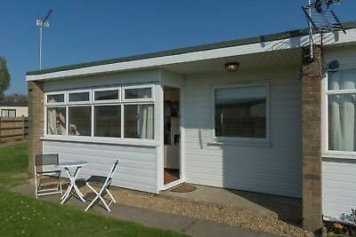 9 August family holiday let self catering chalet Great Yarmouth Norfolk Broads