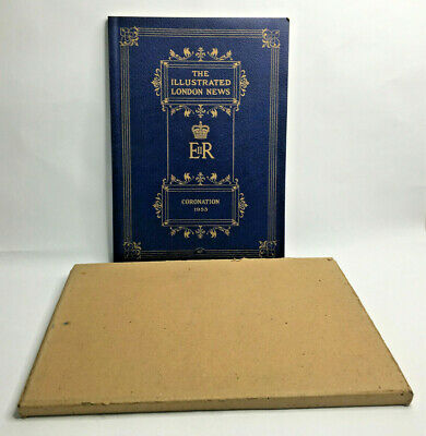 1953 Coronation Illustrated London News With Original Cover Box
