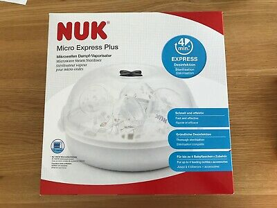 NUK Micro Express Plus Microwave Steam Steriliser