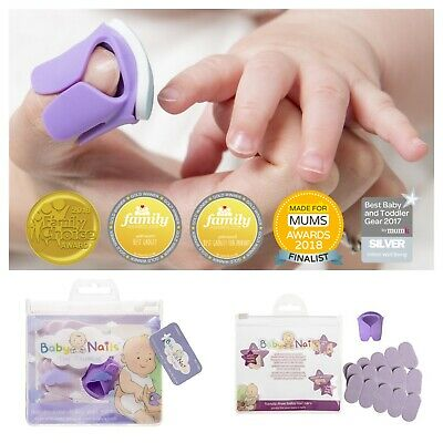 Baby Nails Care Soft Disposable Nail Files Newborn Safety Grooming Tools Set