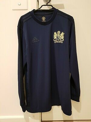 100% authentic d749b f3b43 MANCHESTER UNITED 1968 Special Edition Jersey Adidas Third Away Shirt Size M