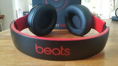 Beats by Dr. Dre Studio 3 Wireless Headphones - Black & Red ( Decade Collection)