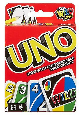 Uno Card Game 108 Playing Cards Indoor Family Kids Friends Party Gift