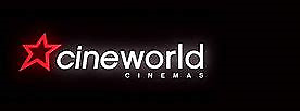 2 Cinema tickets (Cineworld Didsbury,Manchester) using e-ticket codes EMAIL/TEXT