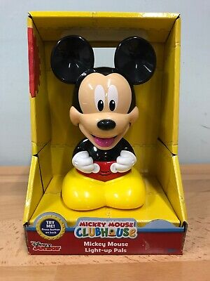 NEW IN BOX Disney MICKEY MOUSE Light up Pals  MICKEY MOUSE CLUBHOUSE WIC#350767