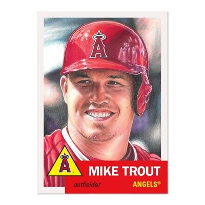 2019 Topps Living Set #200 Mike Trout