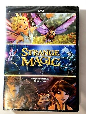 Strange Magic New Sealed DVD Animated 126718 2015 Lucasfilms
