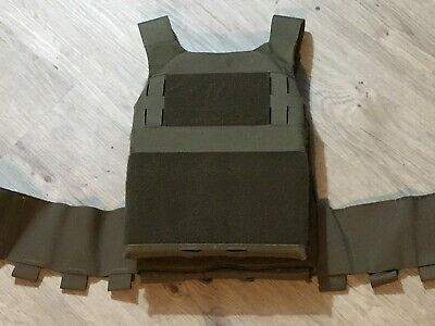 Ferro Concepts Slickster Plate Carrier Military Airsoft Conceal RANGER GREEN MED