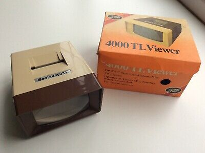 Vintage Boots 4000 TL Slide Viewer With Box