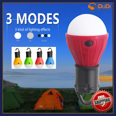 Hanging Led Camping Tent Emergency Light Bulb Battery Powered Portable Outdoor