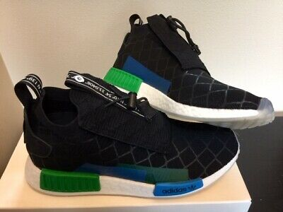 best loved e2130 f6cef ADIDAS X MITA NMD TS1 PK Core Black Blue Green BC0333 New DS