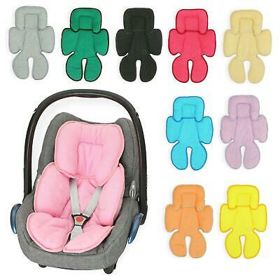 Baby Head Hugger & Body Support Liner for Car Seat Pushchair Breathable COTTON