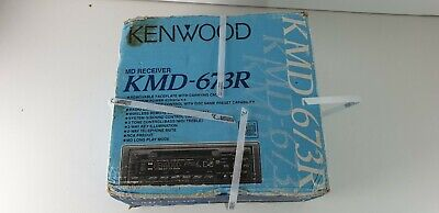 Kenwood Minidisc Player Autoradio KMD 673R MD Receiver, Neu!