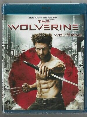 Sealed Blu-Ray + Digital HD - THE WOLVERINE - Also French