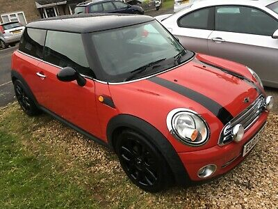 Mini Cooper R56,F/S/H,Chili Red,Low Milage,Lady owner,2 keys,Half leather